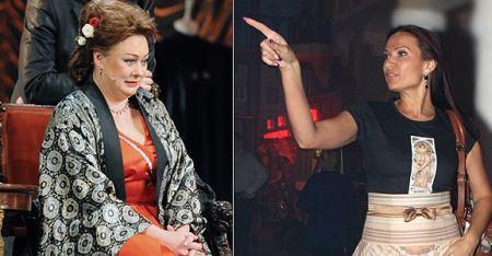 Мария Аронова и Эвелина Бледанс