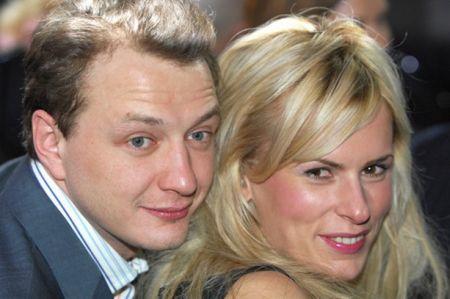 Марат Башаров с бывшей женой Лизой