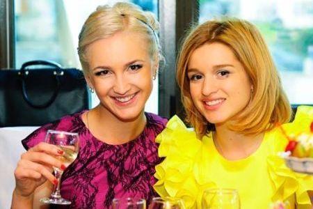 Ольга Бузова и Ксения Бородина