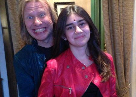 Виктор Дробыш и дочь Иосифа Пригожина
