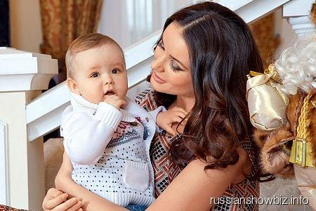 Оксана Федорова с сыном