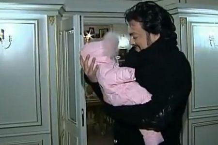 Филипп Киркоров с дочерью