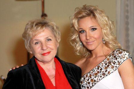 Юлия Ковальчук с мамой