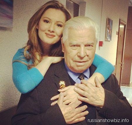 Мария Кожевникова со своим дедушкой