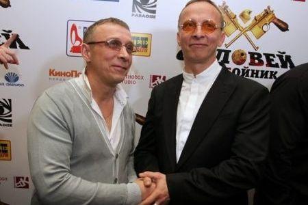 Иван Охлобыстин со своим двойником