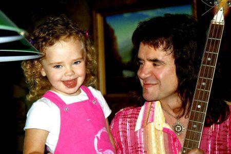Евгений Осин с дочкой Агатой