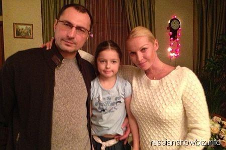 Игорь Вдовин, Анастасия Волочкова и их дочь Ариадна
