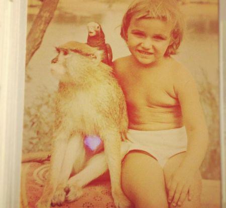 Алена Водонаева в детстве