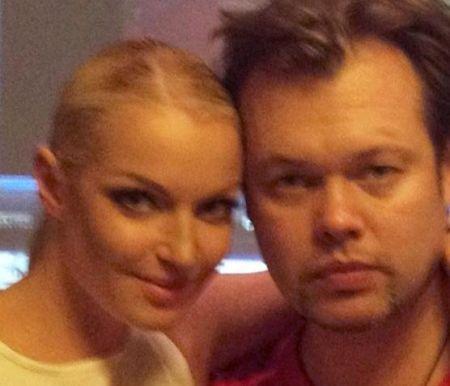 Анастасия Волочкова со своим кемеровским поклонником