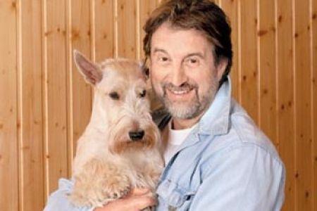 Леонид Ярмольник со своей собакой
