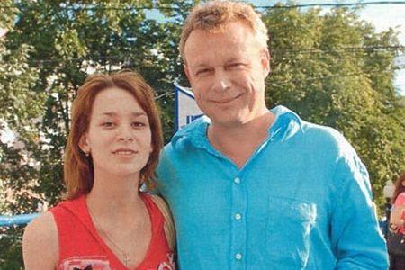 Сергей Жигунов с дочерью Марией