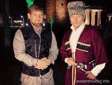 Рамзан Кадыров и Николай Басков