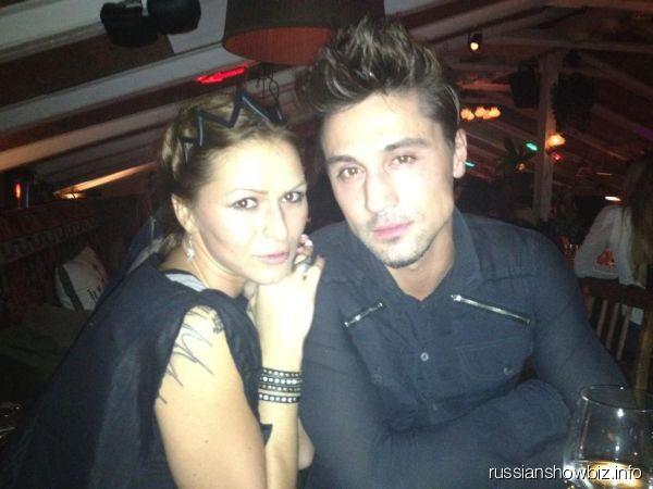 Дима Билан с сестрой Анной