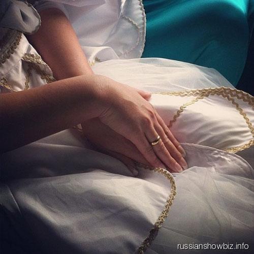 Свадебное платье Анфисы Чеховой