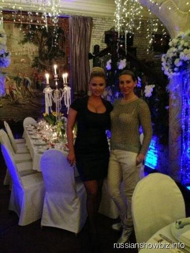 Анна Семенович и Алика Смехова