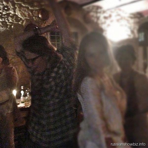 Ксения Собчак на танцполе