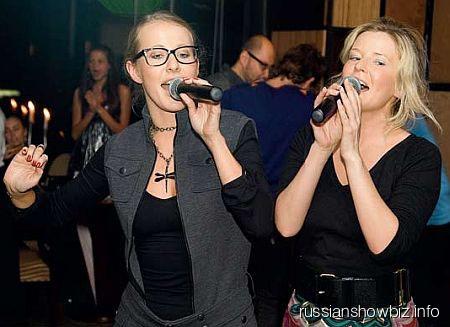 Ксения Собчак и Татьяна Арно
