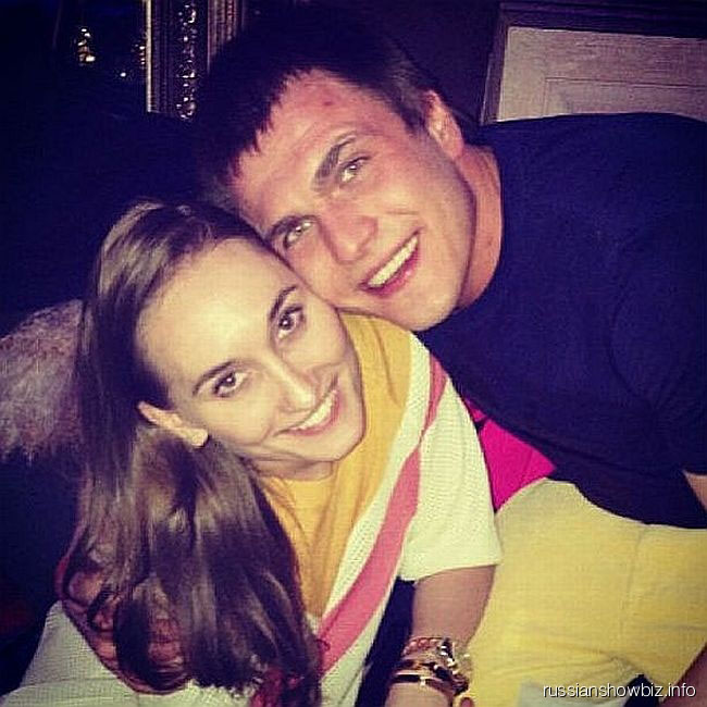 Анастасия Винокур с женихом Григорием