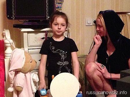 Анастасия Волочкова с дочерью