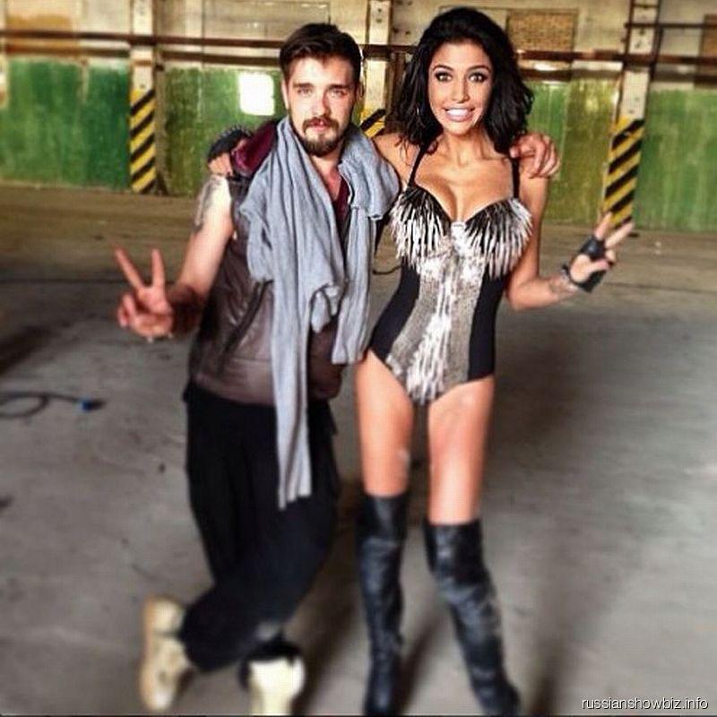 Санта Димопулос с мужем Светланы Лободы