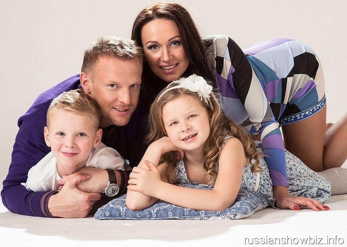 Вячеслав Малафеев с семьей
