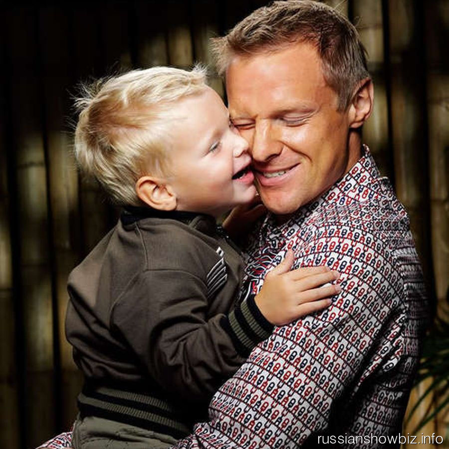 Вячеслав Малафеев с сыном
