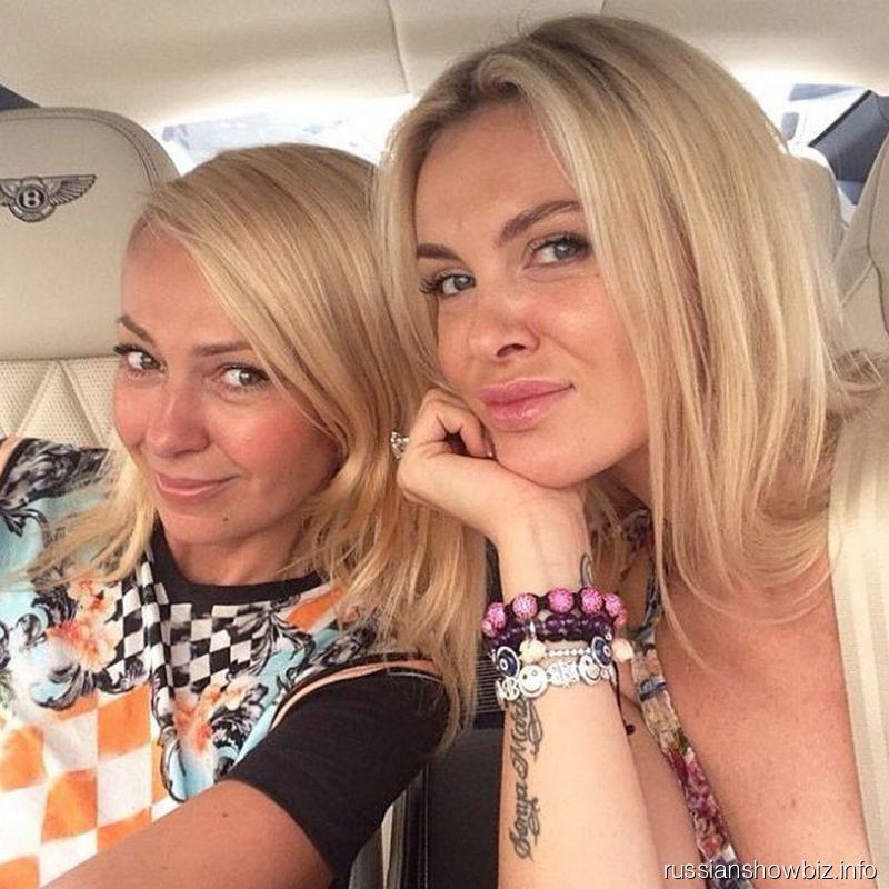 Яна Рудковская и Юлия Саркисова