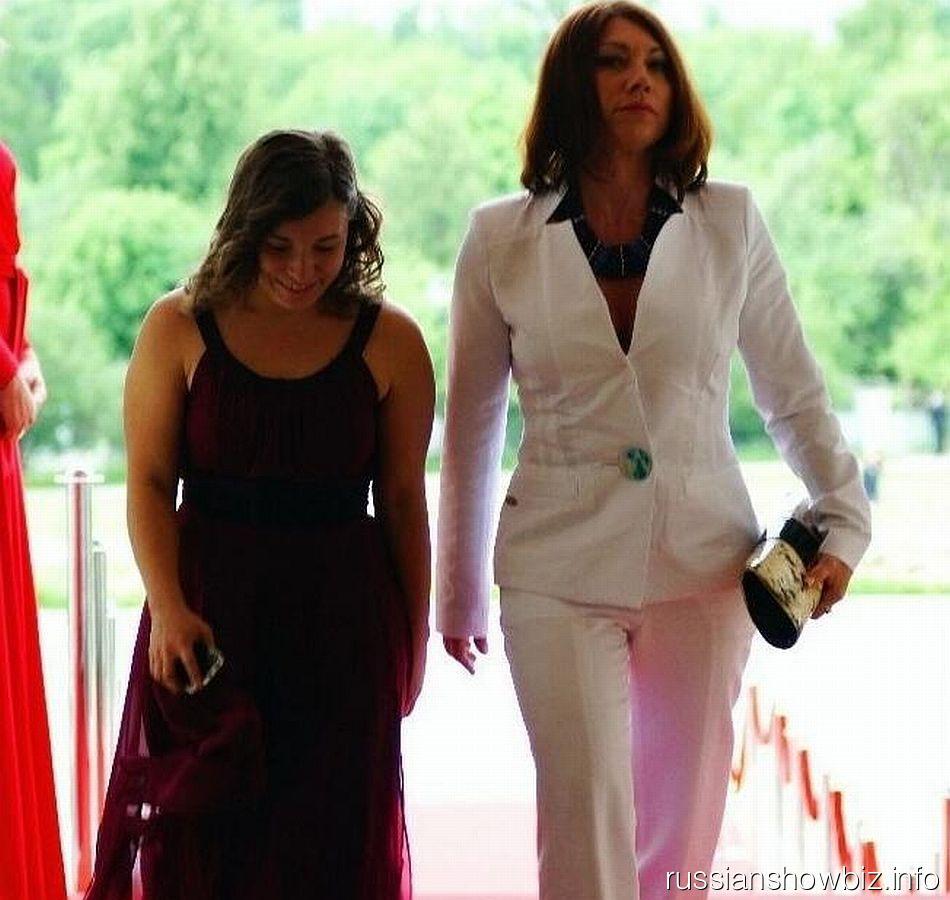 Роза Сябитова с дочерью Ксенияей
