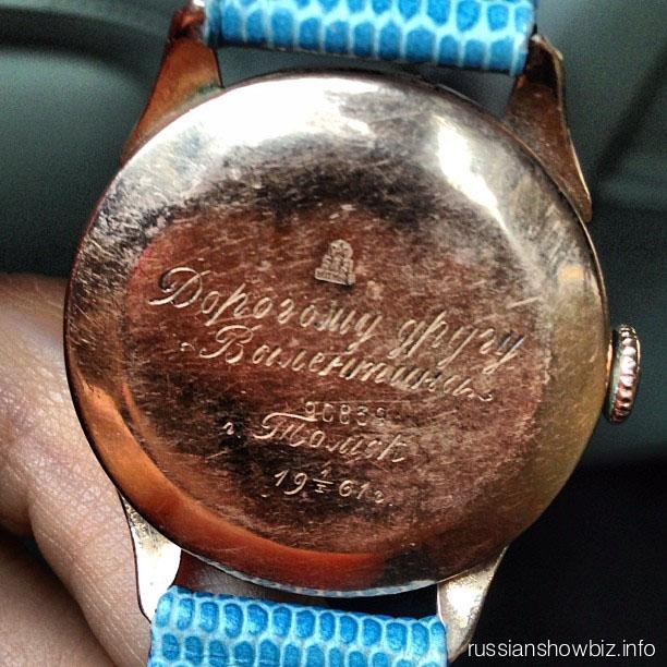 Часы бабушки Анны Седоковой