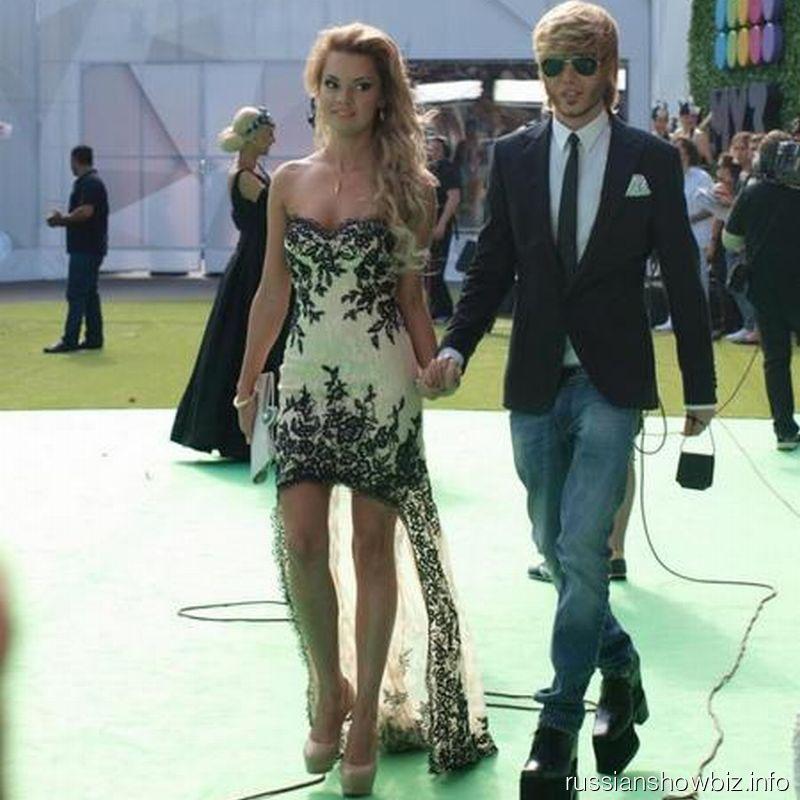 Сергей Зверев с подругой Мариной
