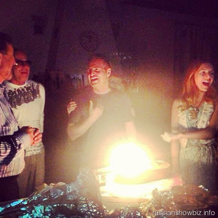 Леонид Агутин с друзьями