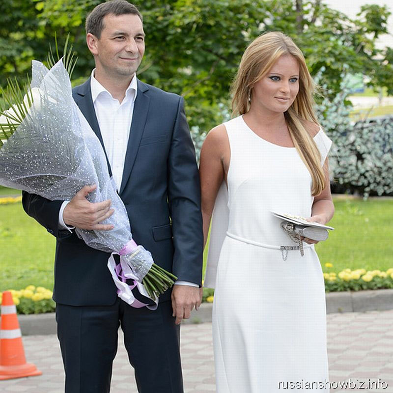 Дана Борисова с возлюбленным Александром