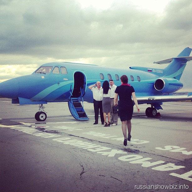 Самолет-мечта Тины Канделаки
