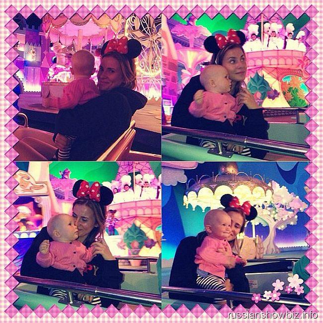 Татиана Мамиашвили с дочерью