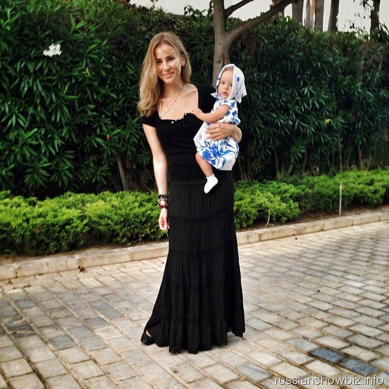 Татиана Мамиашвили с дочкой