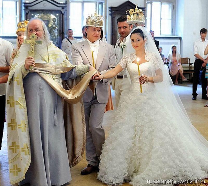Венчание Любови Тихомировой и Ласло Долински