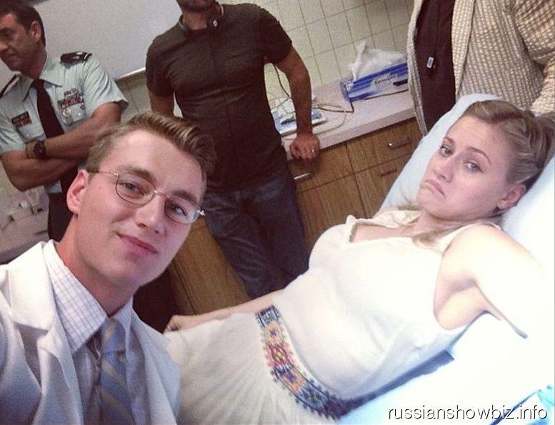 Алексей Воробьев в роли доктора