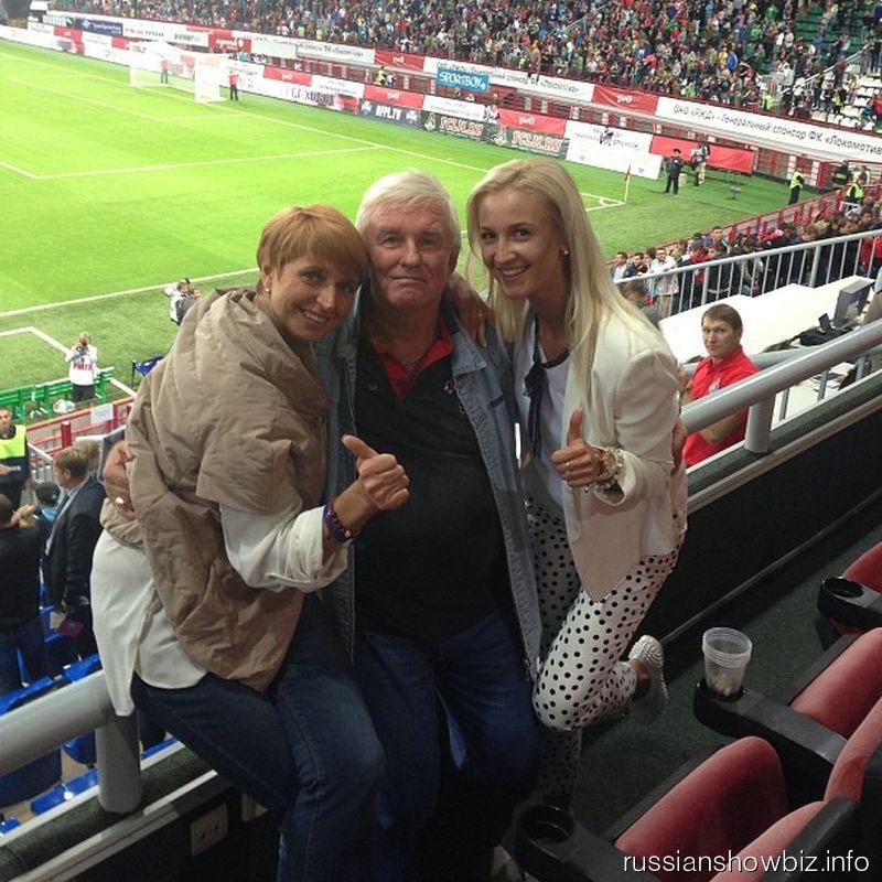 Ольга Бузова со свекровью и первым тренером мужа