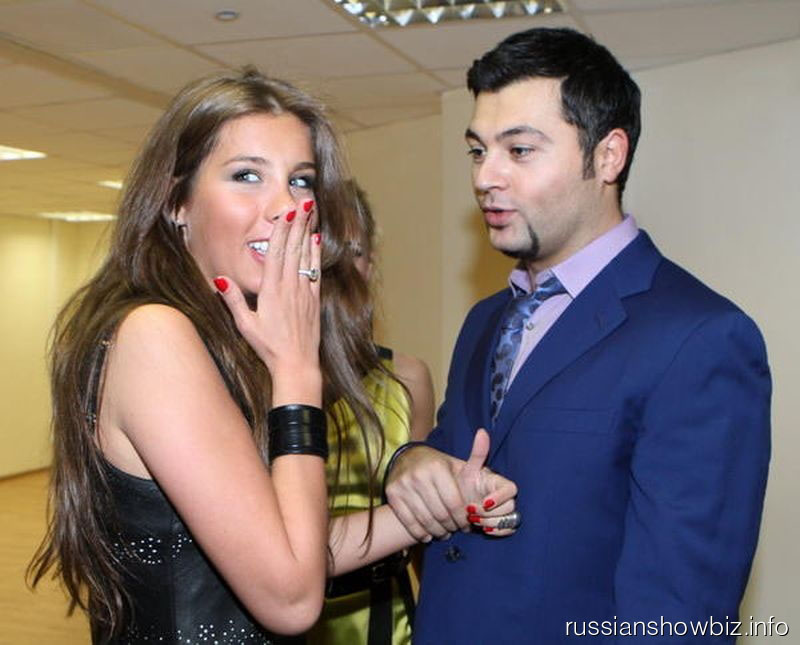 Кети Топурия и Алексей Чумаков