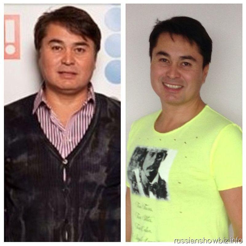 Арман Давлетяров до и после похудения