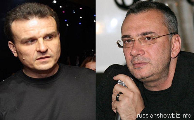Дмитрий Костюк и Константин Меладзе