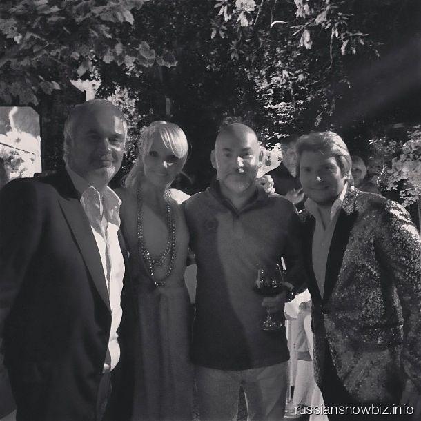 Российские звезды на юбилее Сергея Кожевникова