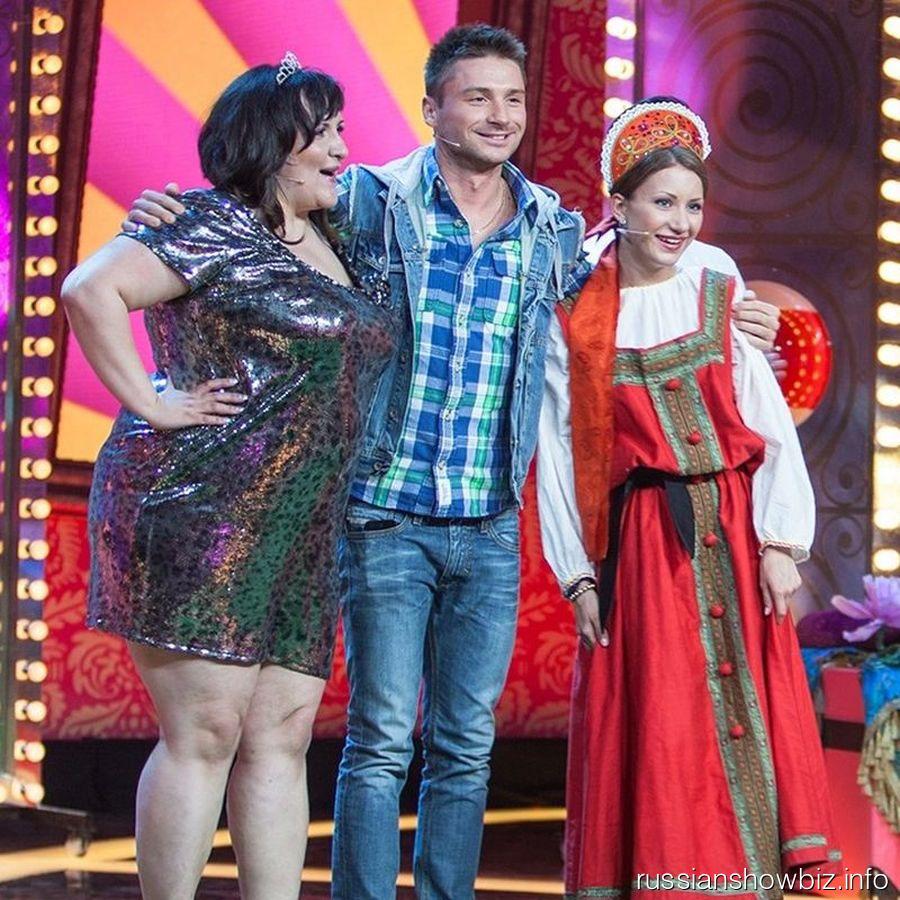 Сергей Лазарев с конкурсантками