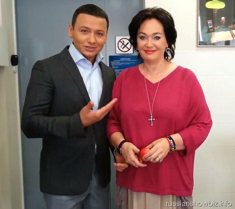 Владимир Олешко и Лариса Гузеева
