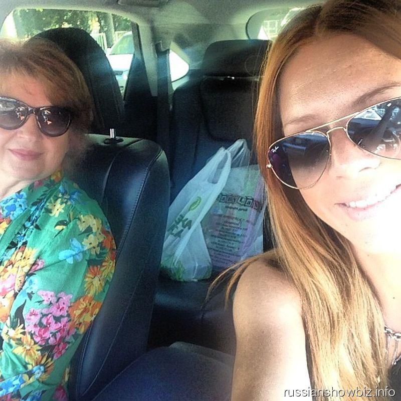 Наталья Подольская с мамой