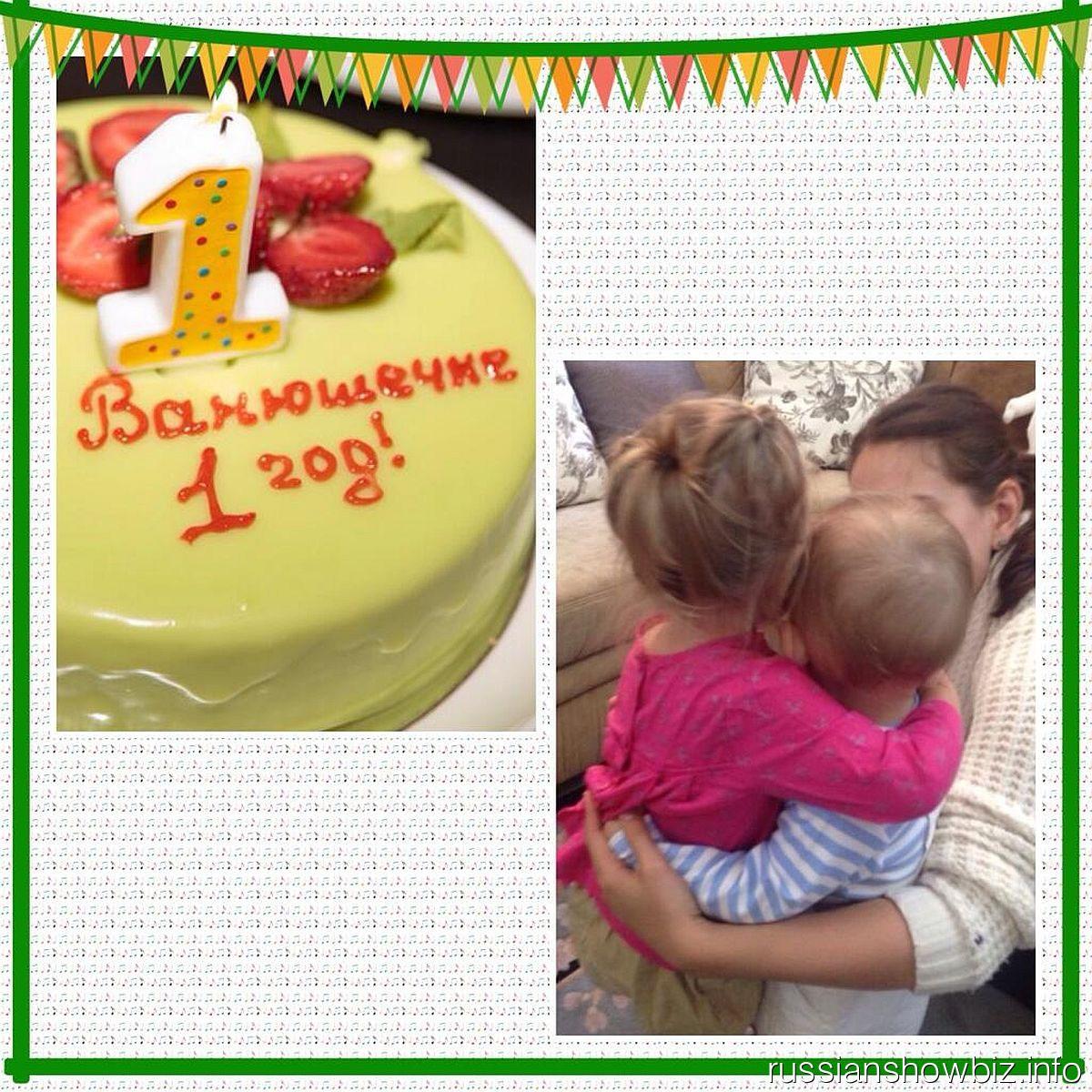 Елена Ваенга празднует день рождения сына