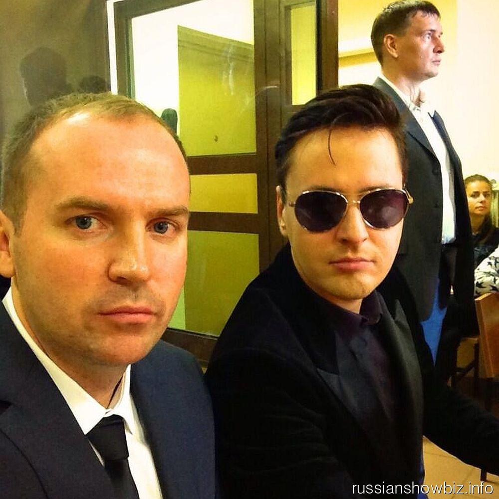 Витас с адвокатом Сергеем Жориным