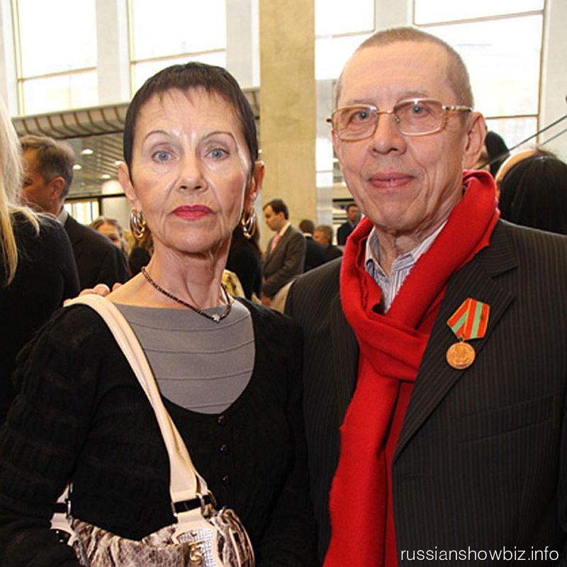 золотухин и его семья: