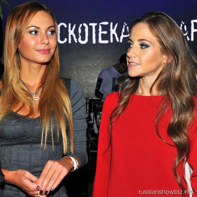 Инна Жиркова и Юлия Аршавина