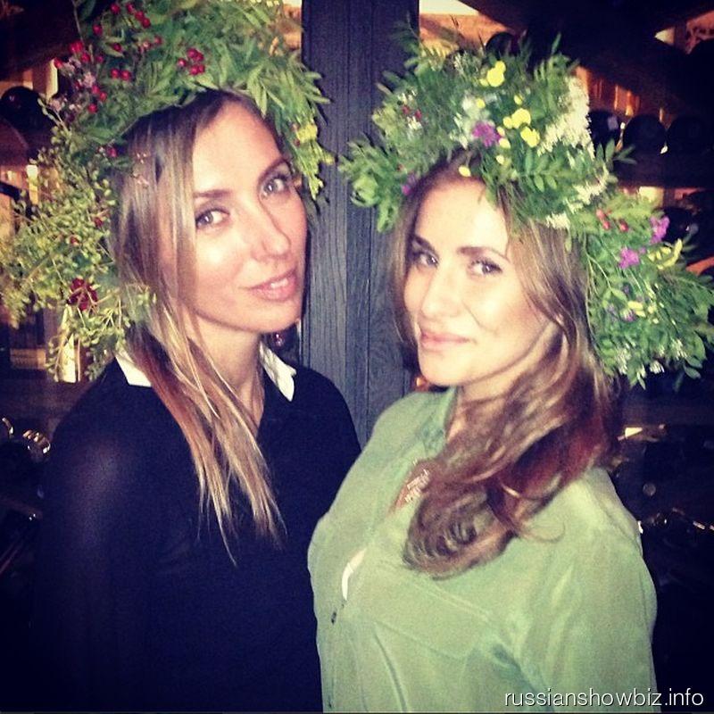 Светалана Бондарчук и Татиана Бондарчук